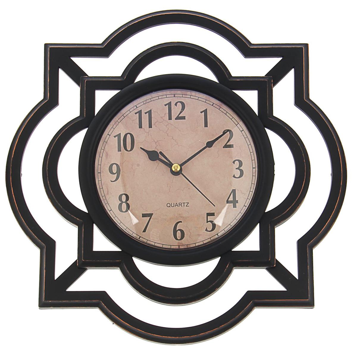 Часы настенные Жанна. Графика, 25 х 25 см1586984Каждому хозяину периодически приходит мысль обновить свою квартиру, сделать ремонт, перестановку или кардинально поменять внешний вид каждой комнаты. Часы настенные круглые Серия Жанна. Графика, ретро циферблат, рама черная — привлекательная деталь, которая поможет воплотить вашу интерьерную идею, создать неповторимую атмосферу в вашем доме. Окружите себя приятными мелочами, пусть они радуют глаз и дарят гармонию.Часы настенные серия Жанна, рама Графика черная, ретро циферблат 25*25см 1586984