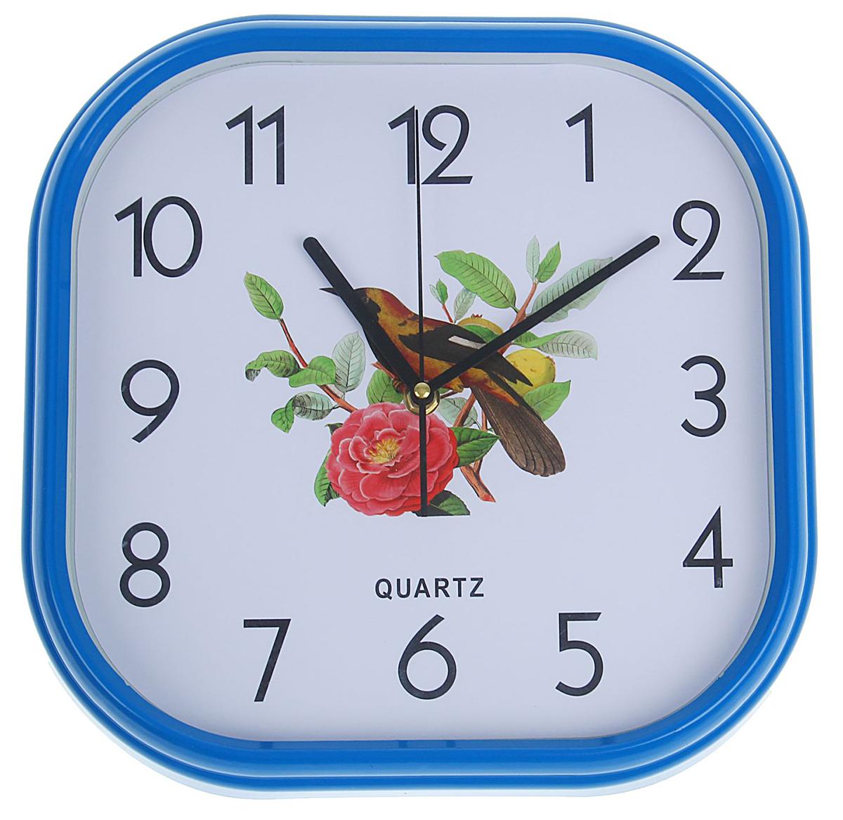 Часы настенные Роза и птица, 30 х 30 см хочу продать свою квартиру которая менее 3х лет и другую какие налоги надо заплатить