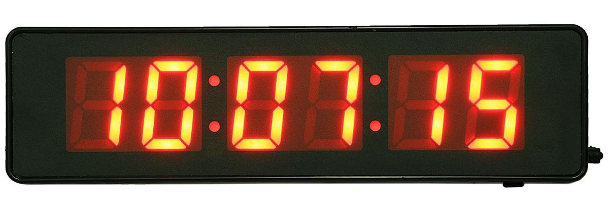 Фото - Часы настенные электронные, красные цифры, 9 х 32 см часы электронные оранжевые