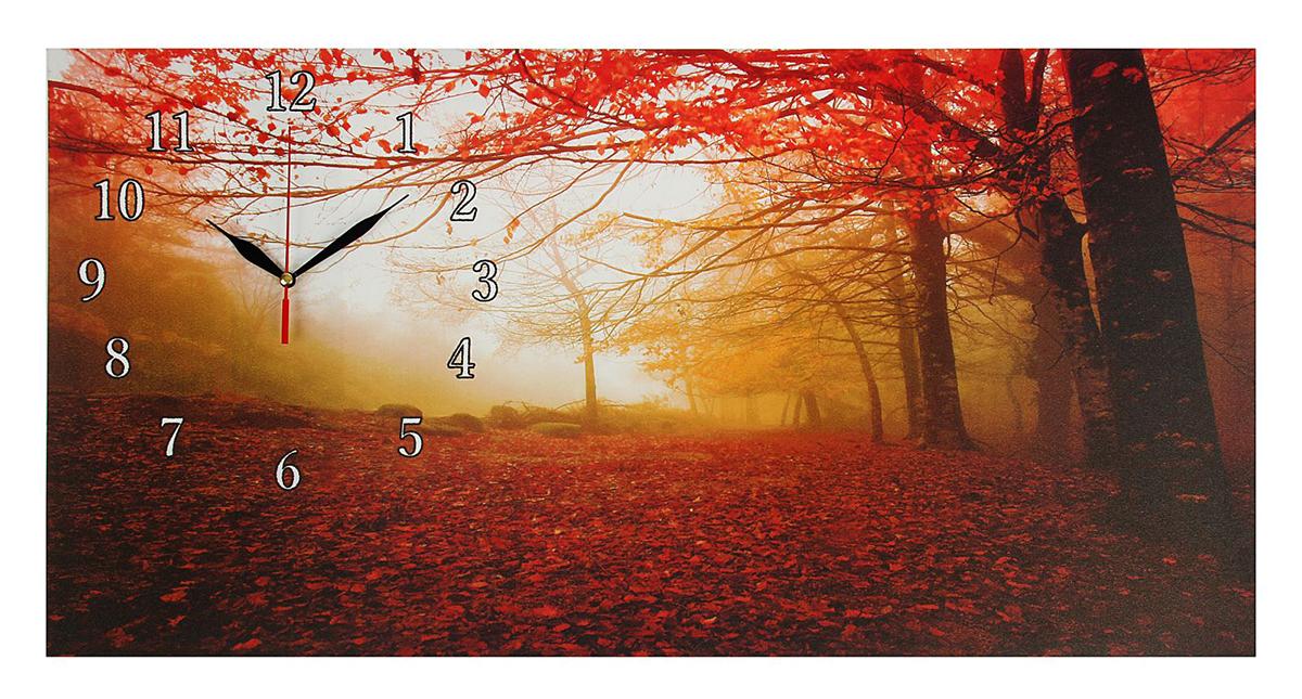 Часы настенные на холсте Сюжет Осенний лес, 40 х 76 см хочу продать свою квартиру которая менее 3х лет и другую какие налоги надо заплатить