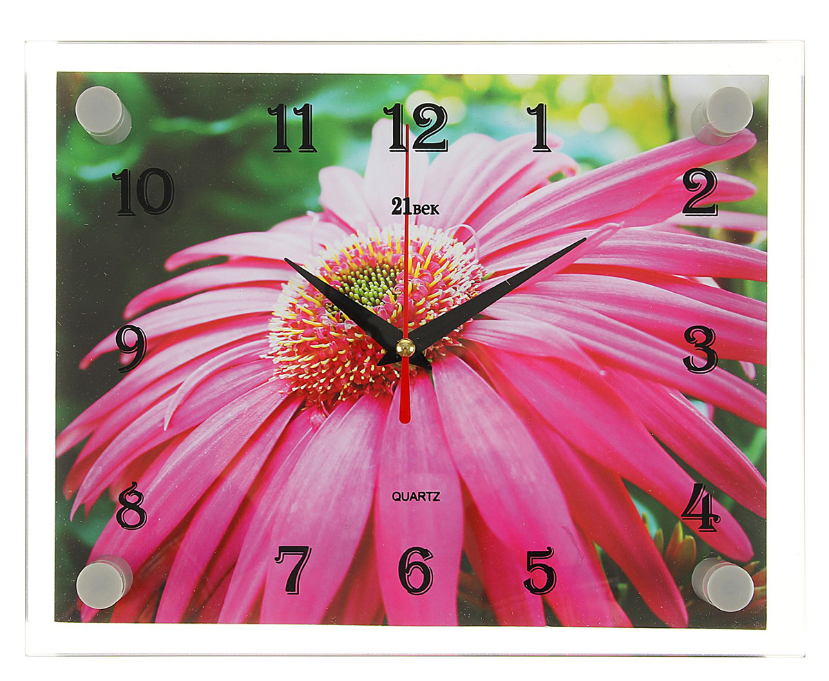 Часы настенные прямоугольные 21 Век Цветок, 20 х 26 см. 22678572267857— сувенир в полном смысле этого слова. И главная его задача — хранить воспоминание о месте, где вы побывали, или о том человеке, который подарил данный предмет. Преподнесите эту вещь своему другу, и она станет достойным украшением его дома. Каждому хозяину периодически приходит мысль обновить свою квартиру, сделать ремонт, перестановку или кардинально поменять внешний вид каждой комнаты. — привлекательная деталь, которая поможет воплотить вашу интерьерную идею, создать неповторимую атмосферу в вашем доме. Окружите себя приятными мелочами, пусть они радуют глаз и дарят гармонию.Часы настенные прямоугольные Цветок, 20х26 см 2267857