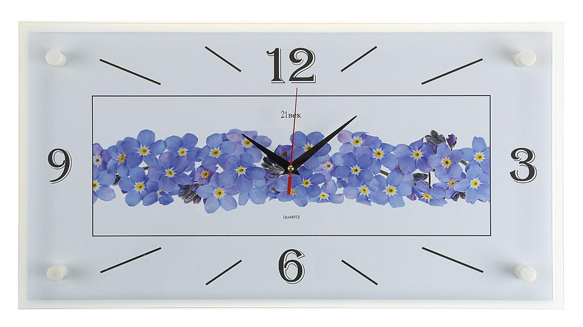 Часы настенные прямоугольные 21 Век Цветки, 52 х 26 см2268041Каждому хозяину периодически приходит мысль обновить свою квартиру, сделать ремонт, перестановку или кардинально поменять внешний вид каждой комнаты. — привлекательная деталь, которая поможет воплотить вашу интерьерную идею, создать неповторимую атмосферу в вашем доме. Окружите себя приятными мелочами, пусть они радуют глаз и дарят гармонию.— сувенир в полном смысле этого слова. И главная его задача — хранить воспоминание о месте, где вы побывали, или о том человеке, который подарил данный предмет. Преподнесите эту вещь своему другу, и она станет достойным украшением его дома.Часы настенные прямоугольные Цветки, 52х26 см 2268041