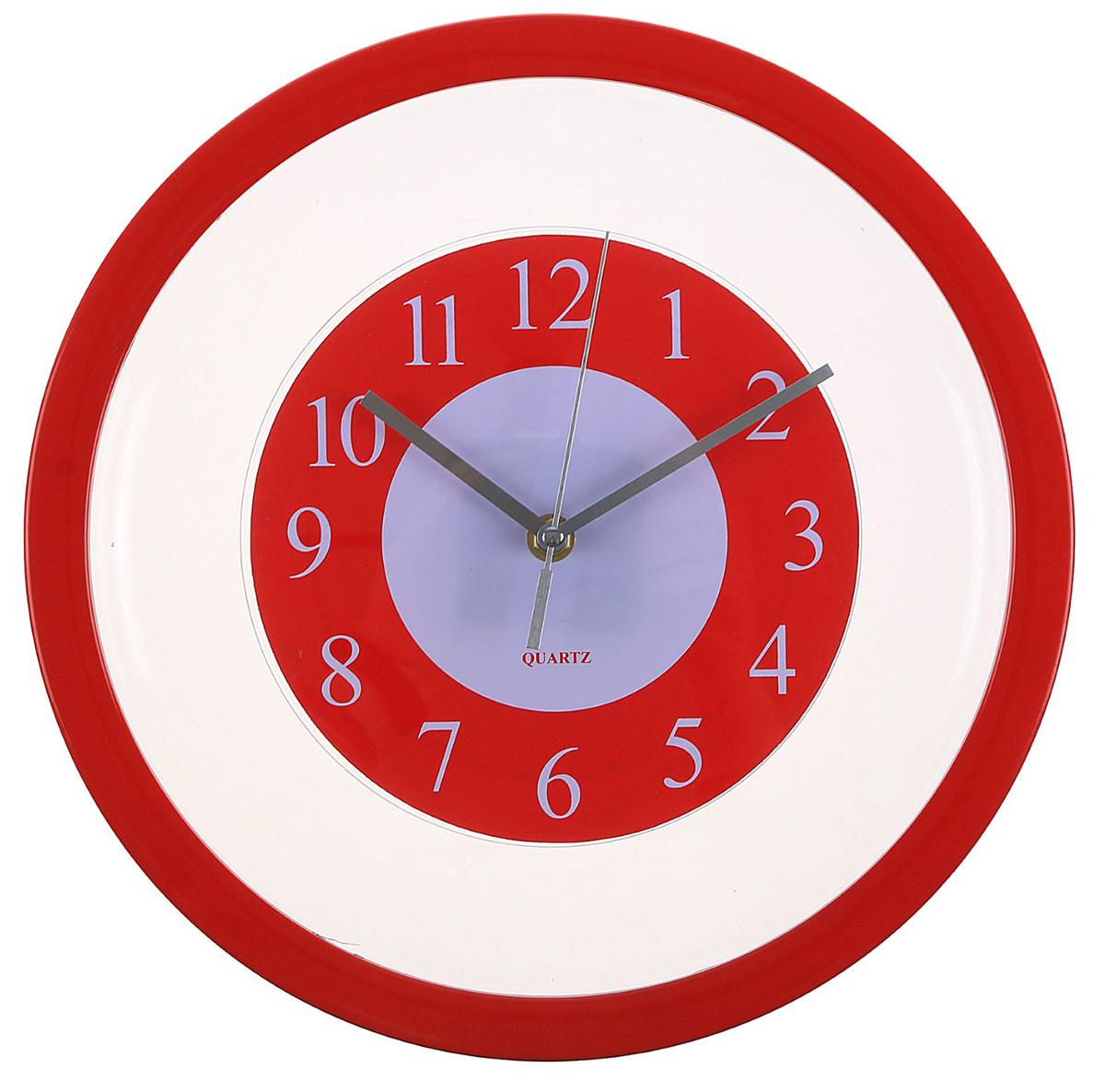 Часы настенные Red Plate, диаметр 30 см2306957Каждому хозяину периодически приходит мысль обновить свою квартиру, сделать ремонт, перестановку или кардинально поменять внешний вид каждой комнаты. — привлекательная деталь, которая поможет воплотить вашу интерьерную идею, создать неповторимую атмосферу в вашем доме. Окружите себя приятными мелочами, пусть они радуют глаз и дарят гармонию.Часы настенные Red Plate, красные, прозрачные, d=30см 2306957
