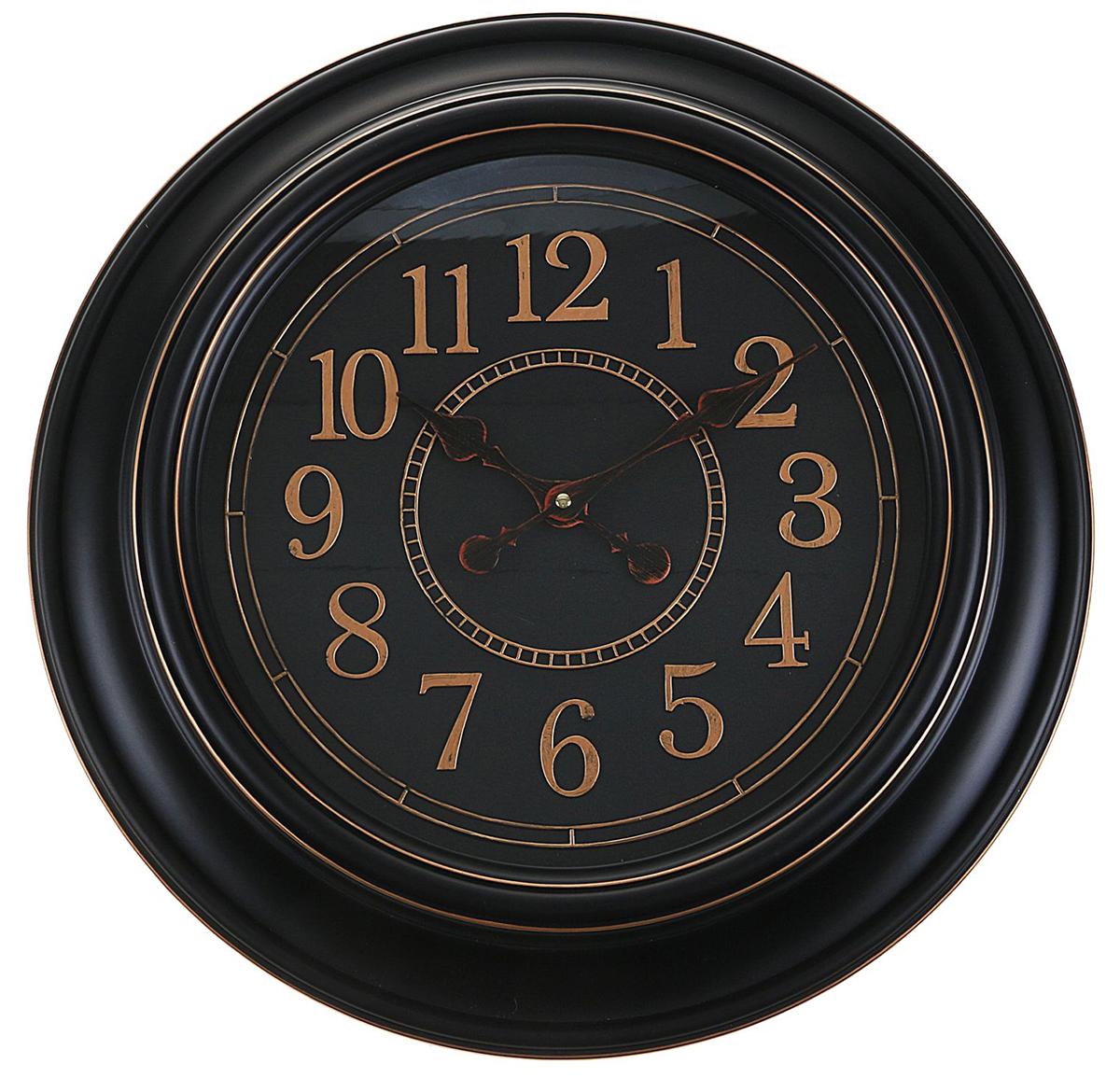 Часы настенные интерьерные BlacknGold, 50 х 50 см2306973Каждому хозяину периодически приходит мысль обновить свою квартиру, сделать ремонт, перестановку или кардинально поменять внешний вид каждой комнаты. — привлекательная деталь, которая поможет воплотить вашу интерьерную идею, создать неповторимую атмосферу в вашем доме. Окружите себя приятными мелочами, пусть они радуют глаз и дарят гармонию.Часы настенные интерьерные BlacknGold, 50*6*50см 2306973