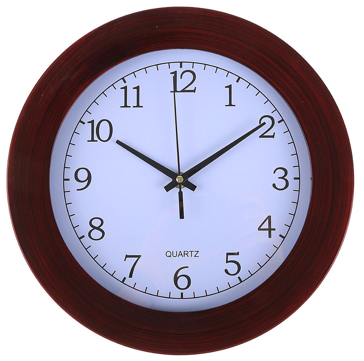 Часы настенные Винил, диаметр 28,5 см2334891Каждому хозяину периодически приходит мысль обновить свою квартиру, сделать ремонт, перестановку или кардинально поменять внешний вид каждой комнаты. — привлекательная деталь, которая поможет воплотить вашу интерьерную идею, создать неповторимую атмосферу в вашем доме. Окружите себя приятными мелочами, пусть они радуют глаз и дарят гармонию.Часы настенные классика Винил, широкий обод, древесные, круг, 28,5*5см 2334891