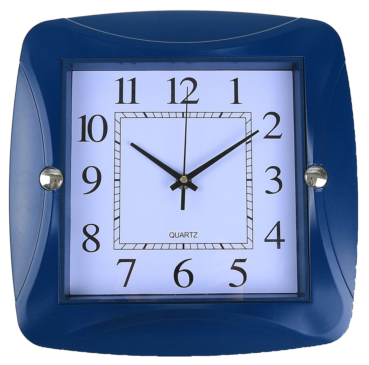 Часы настенные Дуга, цвет: синий, 30 х 30 см хочу продать свою квартиру которая менее 3х лет и другую какие налоги надо заплатить