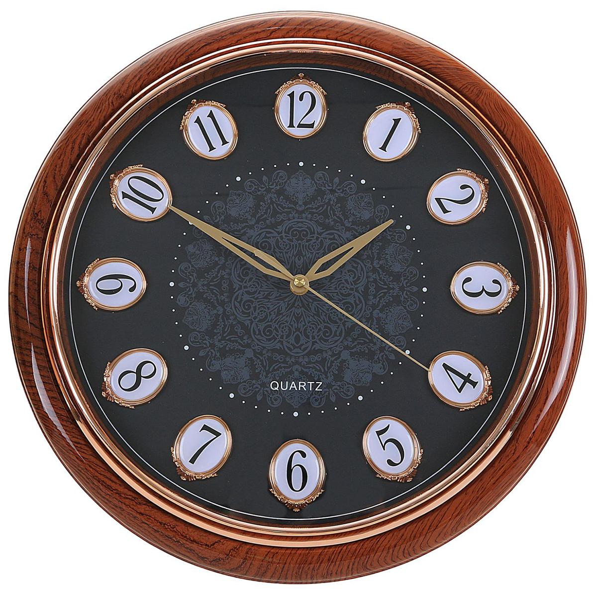 Часы настенные интерьерные Кружева, цвет: черный, дерево, 41 см хочу продать свою квартиру которая менее 3х лет и другую какие налоги надо заплатить