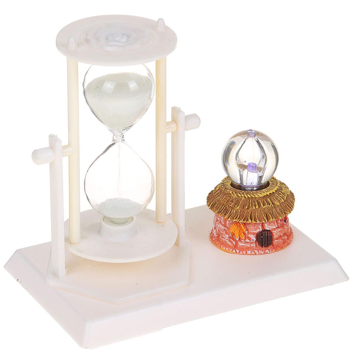 Песочные часы Цветы. Хрустальный шар, цвет: белый, 14 х 13 х 9 см хочу продать свою квартиру которая менее 3х лет и другую какие налоги надо заплатить