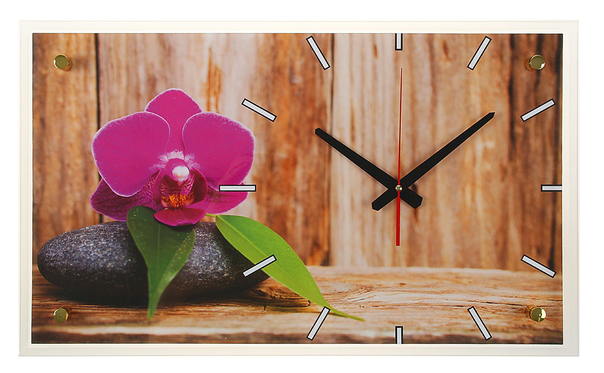 цены Часы настенные прямоугольные 21 Век