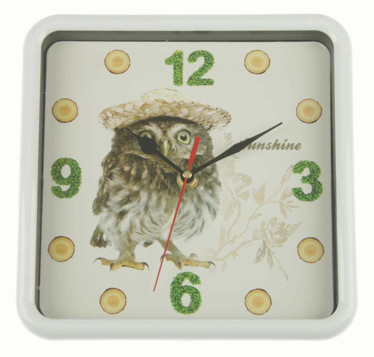 Часы настенные Сова в шляпке, 21,5 х 21,5 см ивантеевка квартиру в монолитно кирпичном доме
