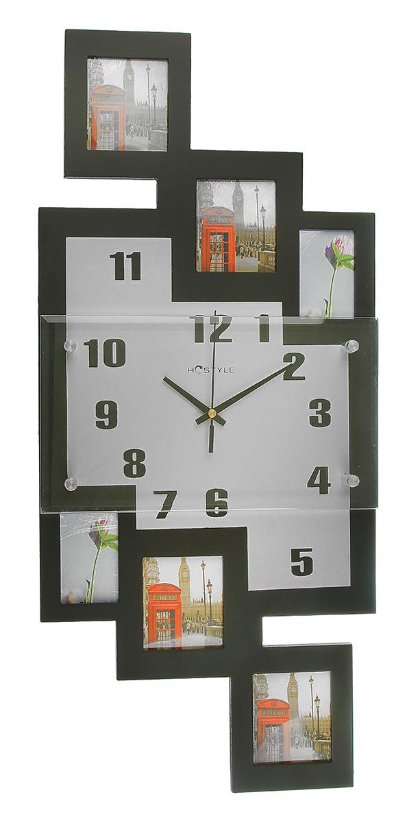 Часы настенные Хайтек, 6 фоторамок 6х9, 8х9, цвет: черный, 65 х 29 см2425344Каждому хозяину периодически приходит мысль обновить свою квартиру, сделать ремонт, перестановку или кардинально поменять внешний вид каждой комнаты. — привлекательная деталь, которая поможет воплотить вашу интерьерную идею, создать неповторимую атмосферу в вашем доме. Окружите себя приятными мелочами, пусть они радуют глаз и дарят гармонию. Хотите создать свое небольшое генеалогическое древо, но не знаете как? Начните с такой прекрасной фоторамки в виде коллажа! Она не только украсит ваш интерьер, объединит дорогие сердцу события в одну замечательную композицию, но и заложит фундамент для создания семейного дерева. Такая необычная фоторамка станет чудесным подарком по случаю праздника.Часы настенные хайтек16х28см+6 фоторамок Прямоугольные вытянутые черные (6х9, 8х9 ) 65*29см 2425344