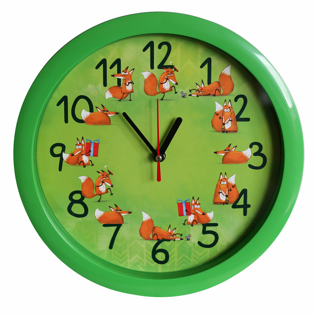 Часы настенные Соломон Лисички счетчики тепла в квартиру