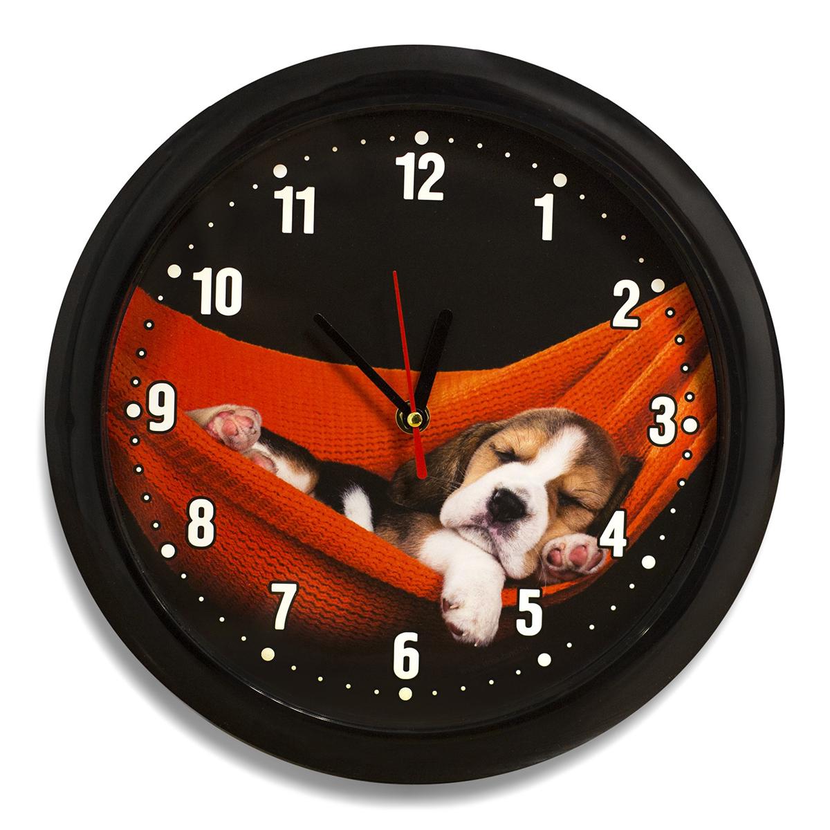 Часы настенные Соломон Щеночек счетчики тепла в квартиру