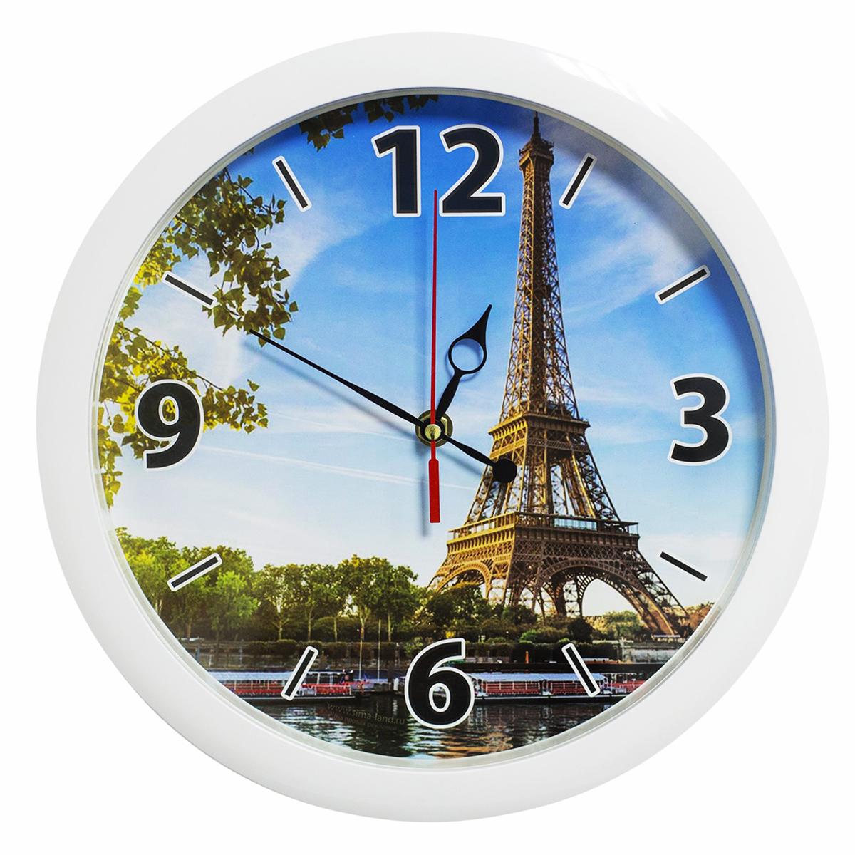 Часы настенные Соломон Эйфелева башня
