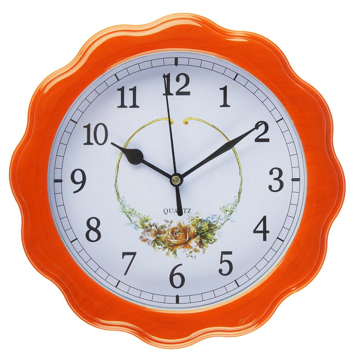 Часы настенные Цветы, диаметр 23 см2457671Каждому хозяину периодически приходит мысль обновить свою квартиру, сделать ремонт, перестановку или кардинально поменять внешний вид каждой комнаты. — привлекательная деталь, которая поможет воплотить вашу интерьерную идею, создать неповторимую атмосферу в вашем доме. Окружите себя приятными мелочами, пусть они радуют глаз и дарят гармонию.Часы настенные классика сюжетные, под дерево, круглые, форма солнца, цветы 23*4см 2457671