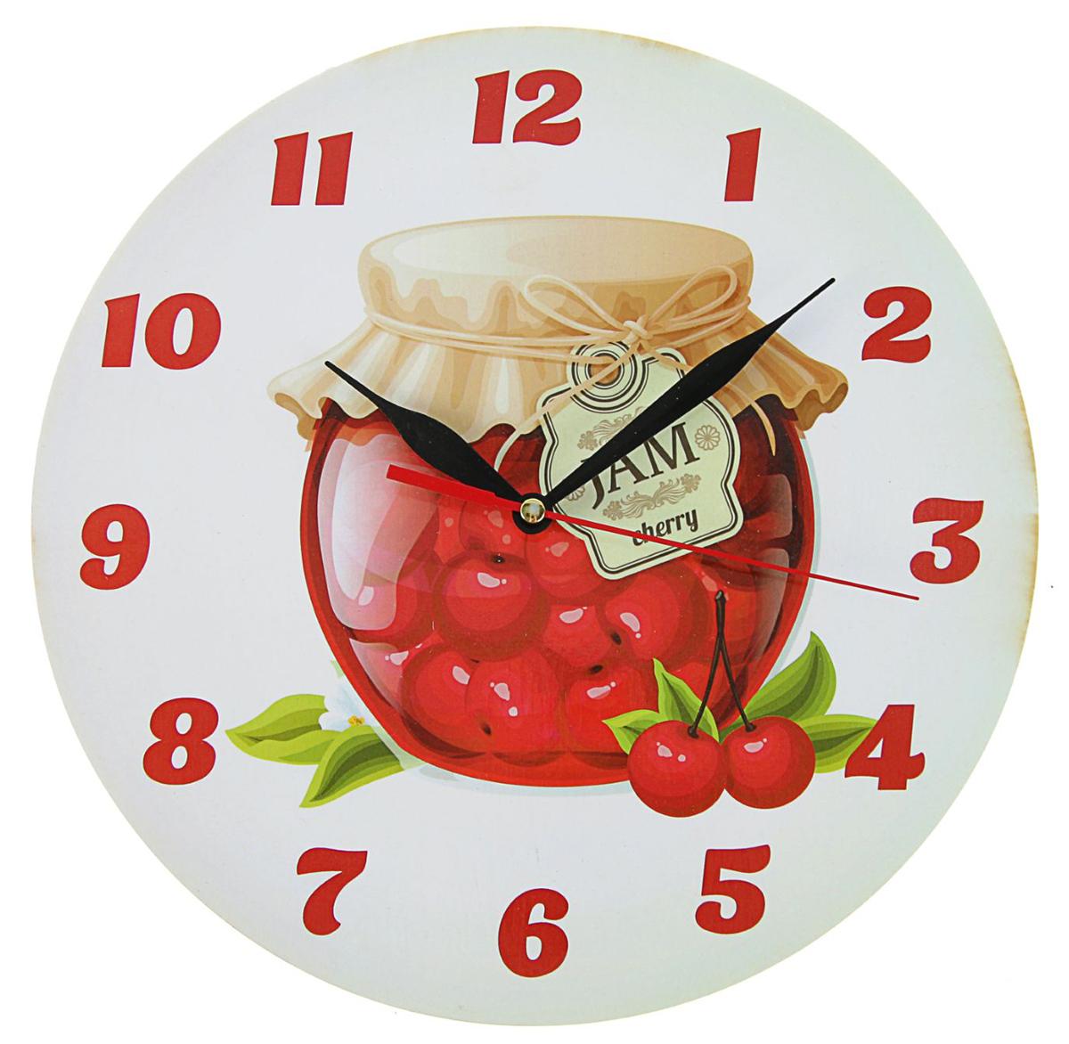 Часы настенные Варенье из вишни, фигурные, диаметр 25 см2497879— сувенир в полном смысле этого слова. И главная его задача — хранить воспоминание о месте, где вы побывали, или о том человеке, который подарил данный предмет. Преподнесите эту вещь своему другу, и она станет достойным украшением его дома. Каждому хозяину периодически приходит мысль обновить свою квартиру, сделать ремонт, перестановку или кардинально поменять внешний вид каждой комнаты. — привлекательная деталь, которая поможет воплотить вашу интерьерную идею, создать неповторимую атмосферу в вашем доме. Окружите себя приятными мелочами, пусть они радуют глаз и дарят гармонию.Часы Варенье из вишни фигурные, O 25 см 2497879