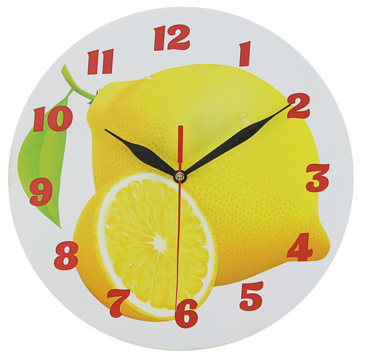 Часы настенные Лимоны, диаметр 25 см2497883— сувенир в полном смысле этого слова. И главная его задача — хранить воспоминание о месте, где вы побывали, или о том человеке, который подарил данный предмет. Преподнесите эту вещь своему другу, и она станет достойным украшением его дома. Каждому хозяину периодически приходит мысль обновить свою квартиру, сделать ремонт, перестановку или кардинально поменять внешний вид каждой комнаты. — привлекательная деталь, которая поможет воплотить вашу интерьерную идею, создать неповторимую атмосферу в вашем доме. Окружите себя приятными мелочами, пусть они радуют глаз и дарят гармонию.Часы Лимоны круглые, O 25 см 2497883