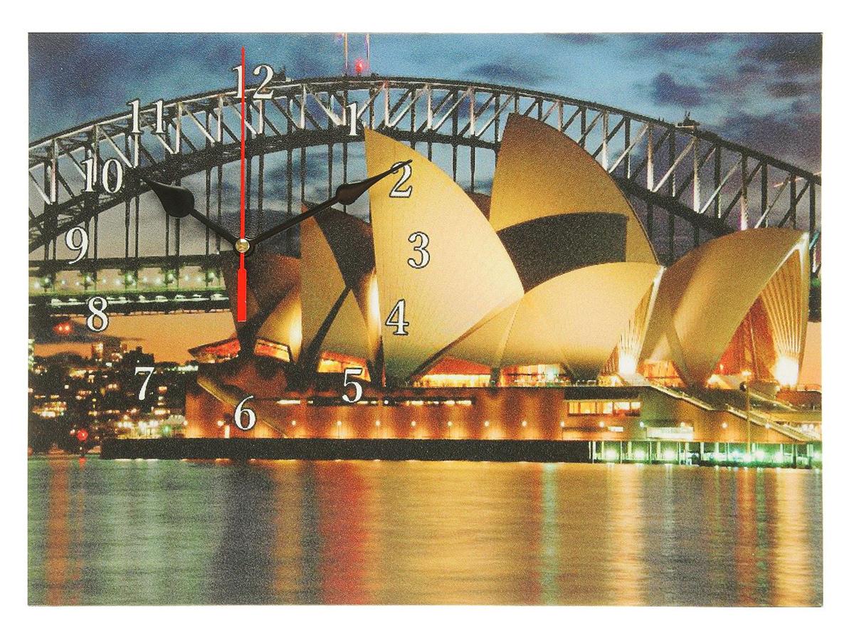 Часы настенные на холсте Сюжет Сиднейский оперный театр, 25 х 35 см хочу продать свою квартиру которая менее 3х лет и другую какие налоги надо заплатить