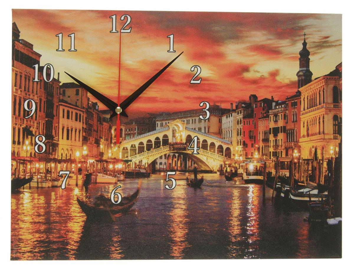 Часы настенные на холсте Сюжет Мост Риальто, 30 х 40 см хочу продать свою квартиру которая менее 3х лет и другую какие налоги надо заплатить