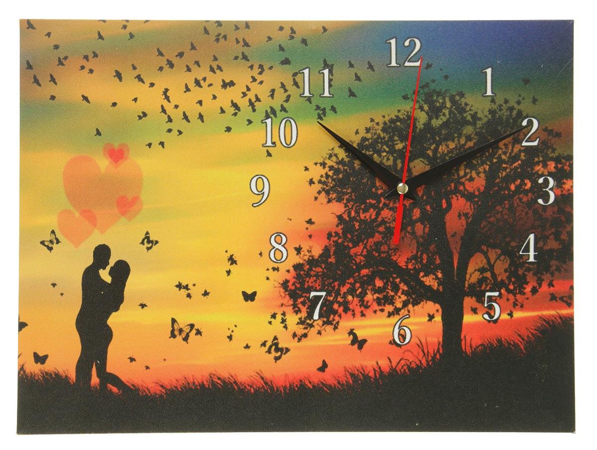 Часы настенные на холсте Сюжет Влюбленная пара, 30 х 40 см хочу продать свою квартиру которая менее 3х лет и другую какие налоги надо заплатить