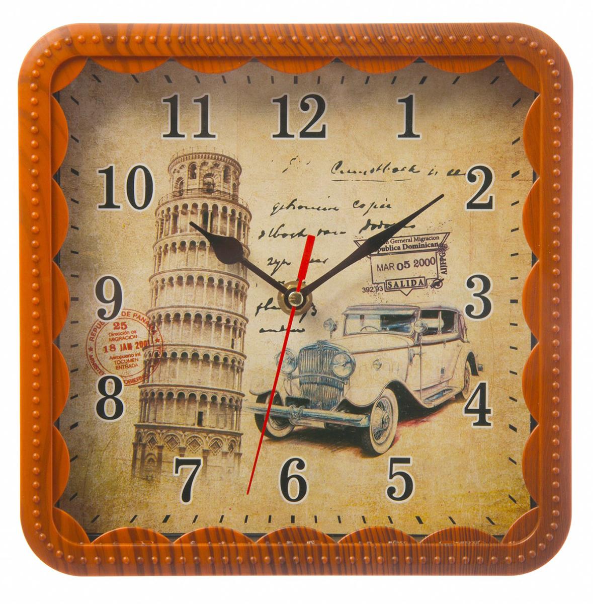 Часы настенные Пизанская башня, 21 х 21 см хочу продать свою квартиру которая менее 3х лет и другую какие налоги надо заплатить