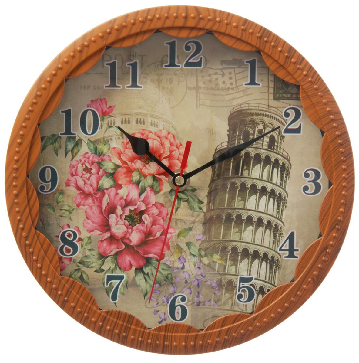 Часы настенные Пизанская башня счетчики тепла в квартиру