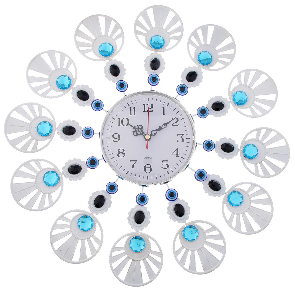 Часы настенные Ажур Турецкие мотивы. Солнышко, диаметр 39 см чаша горошек 2 л бел син 1150426