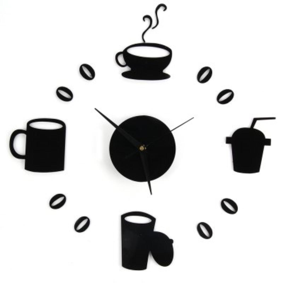 Часы-наклейка настенные DIY Время для перерыва, 65 см2768034Каждому хозяину периодически приходит мысль обновить свою квартиру, сделать ремонт, перестановку или кардинально поменять внешний вид каждой комнаты. Часы-наклейка DIY Время для перерыва, черные, 65см — привлекательная деталь, которая поможет воплотить вашу интерьерную идею, создать неповторимую атмосферу в вашем доме. Окружите себя приятными мелочами, пусть они радуют глаз и дарят гармонию.Часы-наклейка DIY Время для перерыва, черные, 65см 2768034