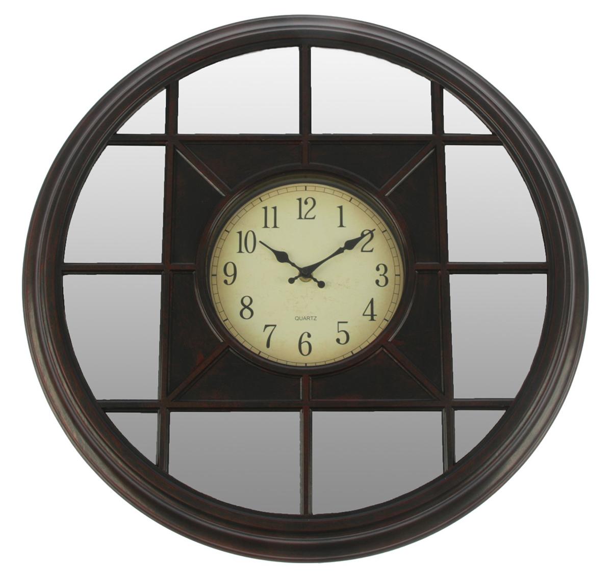 Часы настенные Зеркала, цвет: шоколад, диаметр 50 см хочу продать свою квартиру которая менее 3х лет и другую какие налоги надо заплатить