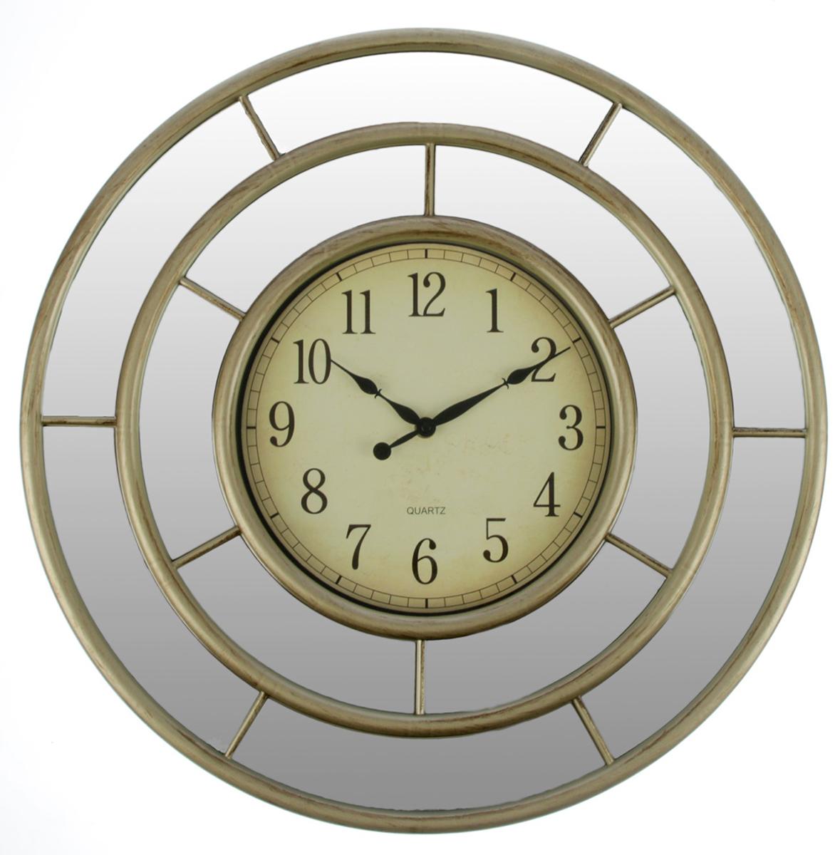 Часы настенные Зеркала. Лабиринт, цвет: бежевый, диаметр 50 см2770470Каждому хозяину периодически приходит мысль обновить свою квартиру, сделать ремонт, перестановку или кардинально поменять внешний вид каждой комнаты. — привлекательная деталь, которая поможет воплотить вашу интерьерную идею, создать неповторимую атмосферу в вашем доме. Окружите себя приятными мелочами, пусть они радуют глаз и дарят гармонию.Часы настенные. серия Зеркала, круг, Лабиринт, циферблат под старину, цвет беж, d=50см 2770470