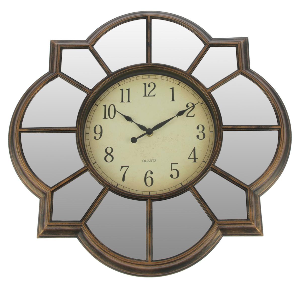 Часы настенные Зеркала, цвет: бронза, 50 х 50 см хочу продать свою квартиру которая менее 3х лет и другую какие налоги надо заплатить