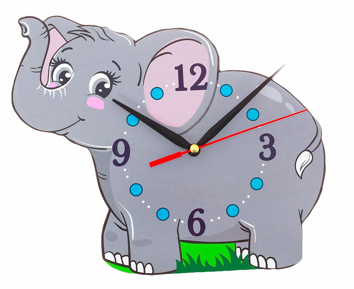 Часы настенные Слоник счетчики тепла в квартиру