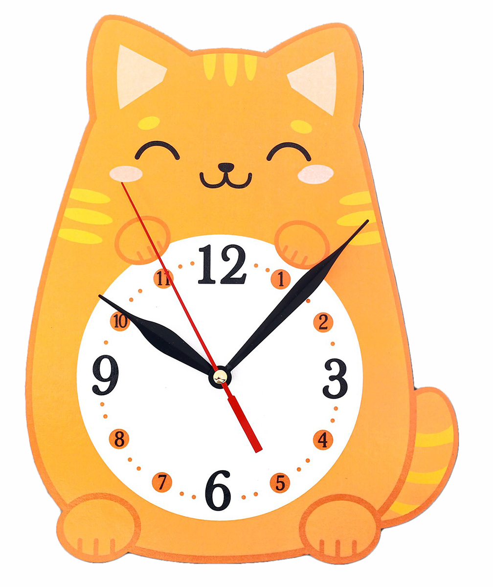 Часы настенные Котенок счетчики тепла в квартиру