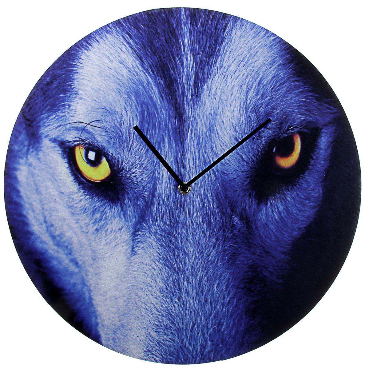 Часы настенные Фетр. Волчий взгляд, диаметр 40 см760857Каждому хозяину периодически приходит мысль обновить свою квартиру, сделать ремонт, перестановку или кардинально поменять внешний вид каждой комнаты. Часы настенные интерьерные Серия Фетр. Волчий взгляд, d=40 см — привлекательная деталь, которая поможет воплотить вашу интерьерную идею, создать неповторимую атмосферу в вашем доме. Окружите себя приятными мелочами, пусть они радуют глаз и дарят гармонию.часы настенные серии фетр Волчий взгляд d=40см 760857