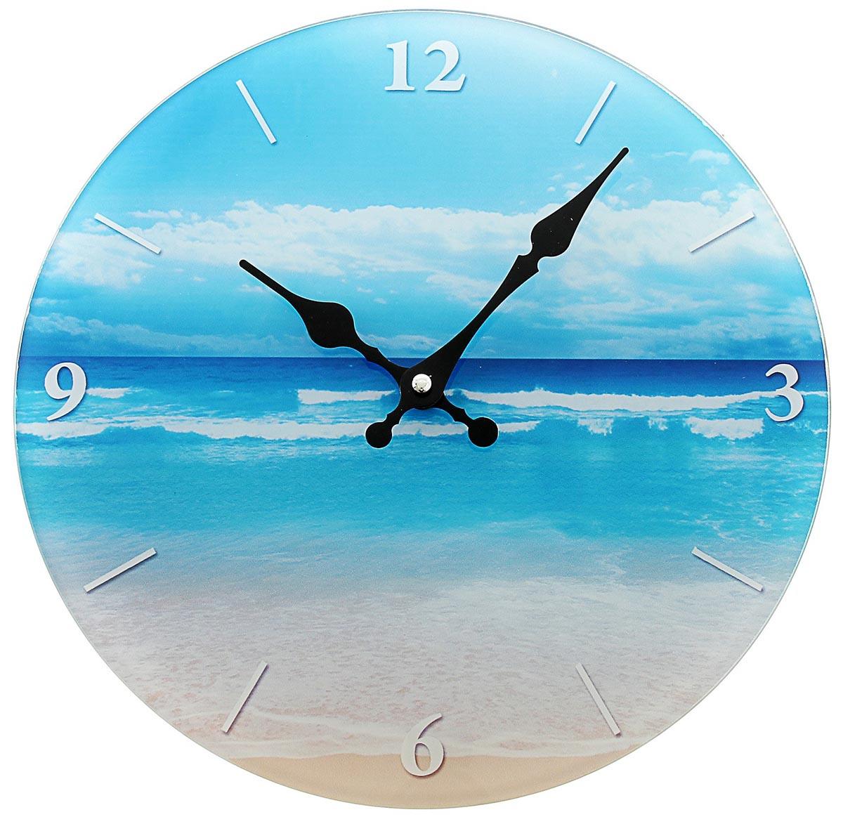 Часы настенные Берег моря, диаметр 30 см хочу продать свою квартиру которая менее 3х лет и другую какие налоги надо заплатить