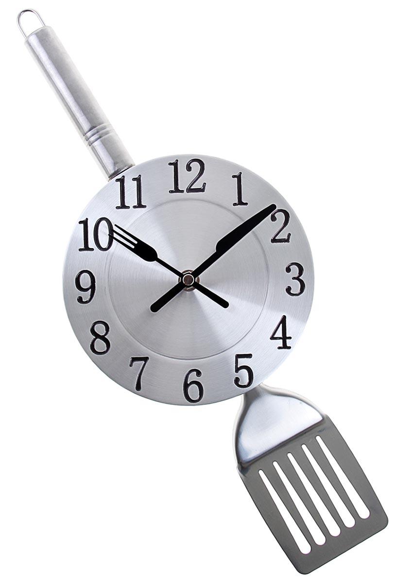 Часы настенные Лопатка, 16,5 х 40 см760993Каждому хозяину периодически приходит мысль обновить свою квартиру, сделать ремонт, перестановку или кардинально поменять внешний вид каждой комнаты. Часы настенные кухонные Лопатка — привлекательная деталь, которая поможет воплотить вашу интерьерную идею, создать неповторимую атмосферу в вашем доме. Окружите себя приятными мелочами, пусть они радуют глаз и дарят гармонию.Часы настенные Лопатка с циферблатом 16,5*40см 760993