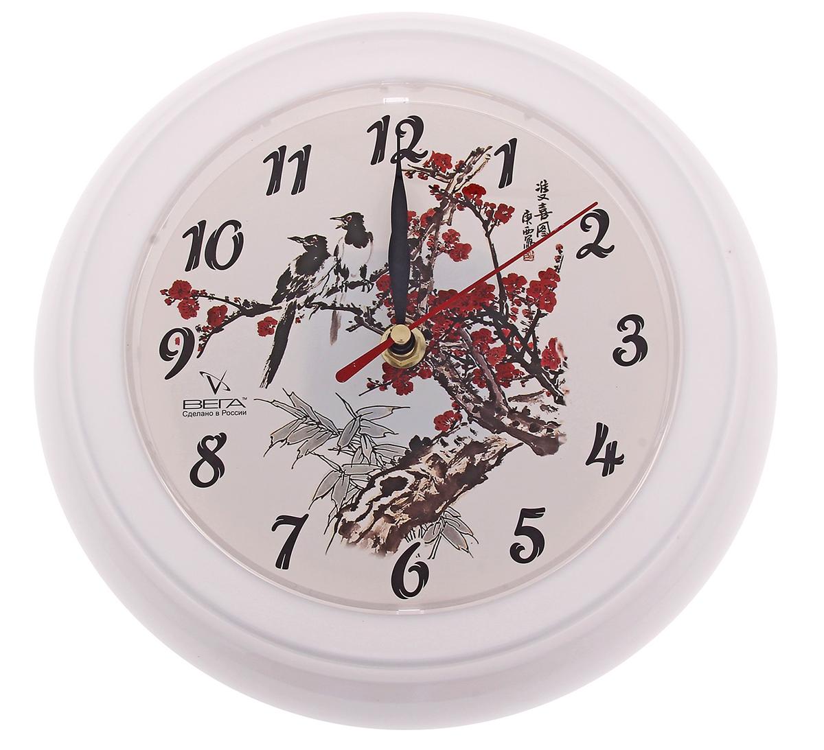 """Часы настенные круглые """"Сакура"""" — сувенир в полном смысле этого слова. И главная его задача — хранить воспоминание о месте, где вы побывали, или о том человеке, который подарил данный предмет. Преподнесите эту вещь своему другу, и она станет достойным украшением его дома. Каждому хозяину периодически приходит мысль обновить свою квартиру, сделать ремонт, перестановку или кардинально поменять внешний вид каждой комнаты. Часы настенные круглые """"Сакура"""" — привлекательная деталь, которая поможет воплотить вашу интерьерную идею, создать неповторимую атмосферу в вашем доме. Окружите себя приятными мелочами, пусть они радуют глаз и дарят гармонию.Часы настенные круглые """"Сакура"""" 796782"""