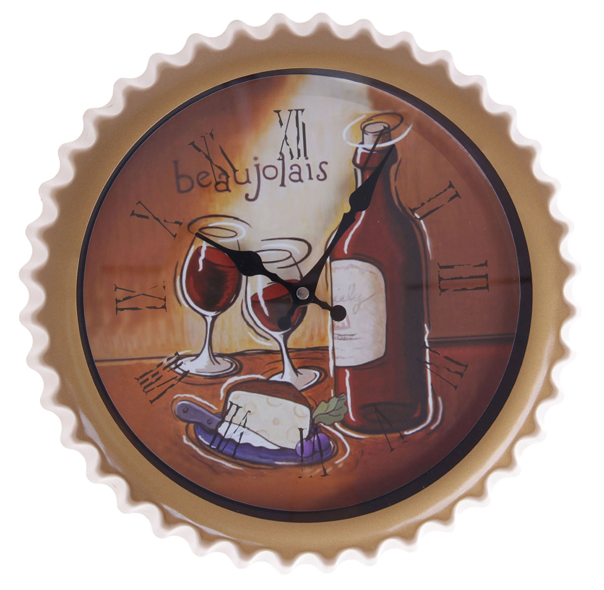 Часы настенные Beaujolais, диаметр 31 см troyka часы настенные troyka 31 см