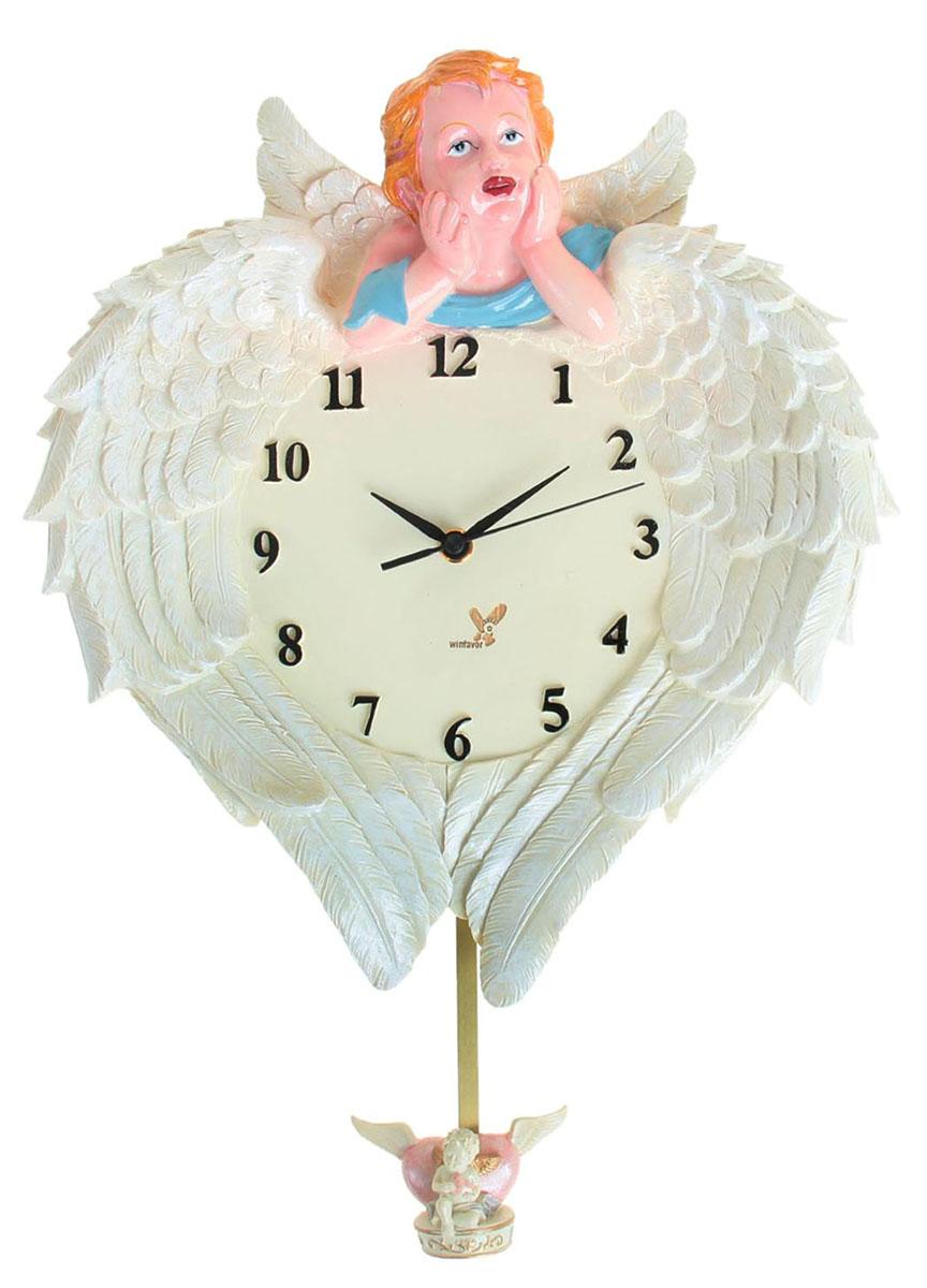 Часы настенные Маятник. Ангел на крыльях, 29 х 23 см игорь князев накрыльяхночи простая лирика
