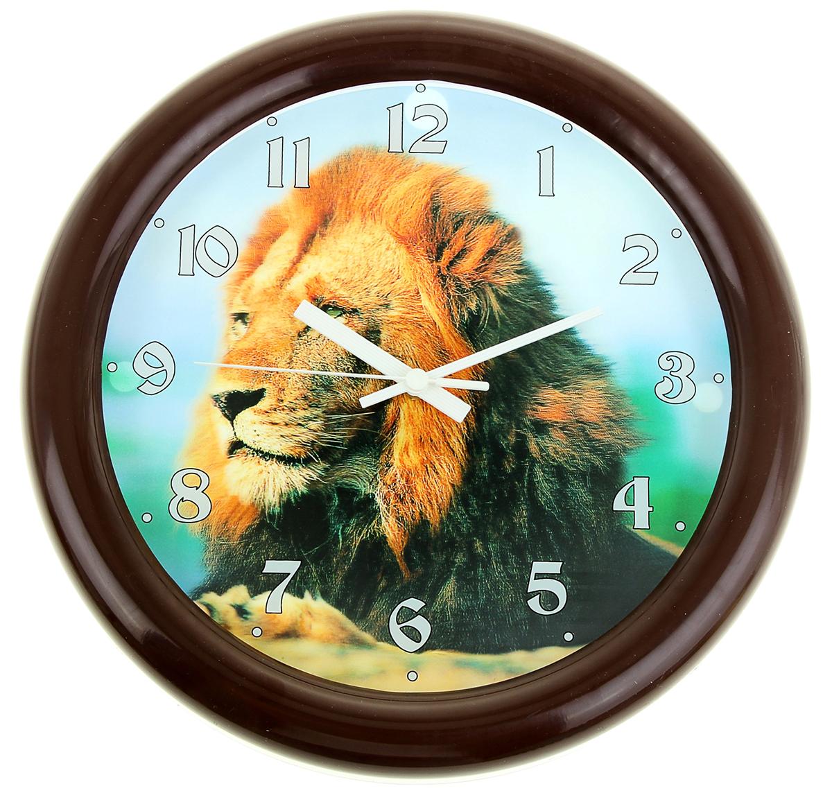 Часы настенные Салют Лев