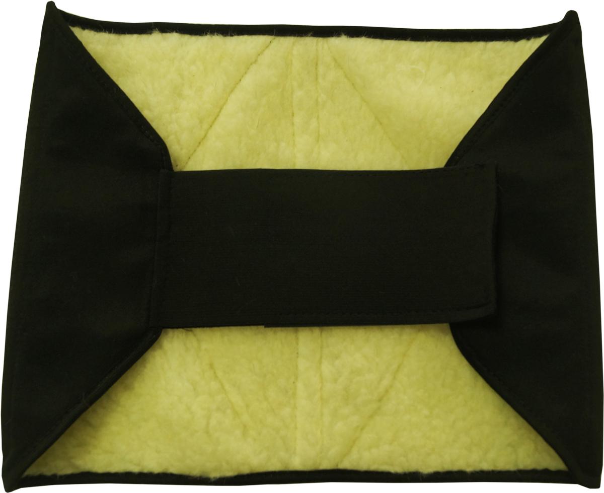 Bio-Textiles Пояс согревающий с шерстью овцы, цвет: коричневый. Размер XL/3XL. P674