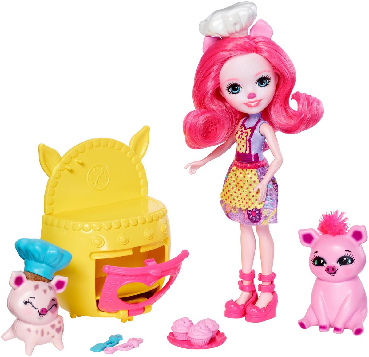 Enchantimals Игровой набор с куклой Baking Buddies enchantimals игровой набор с куклой дополнительная кукла со зверюшкой fnh22 fjj21