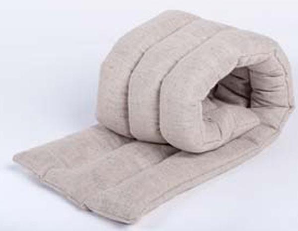 Подушка Bio-Textiles  Воротник. Уют-3 , наполнитель: семена льна, 20 х 60 см - Аптека