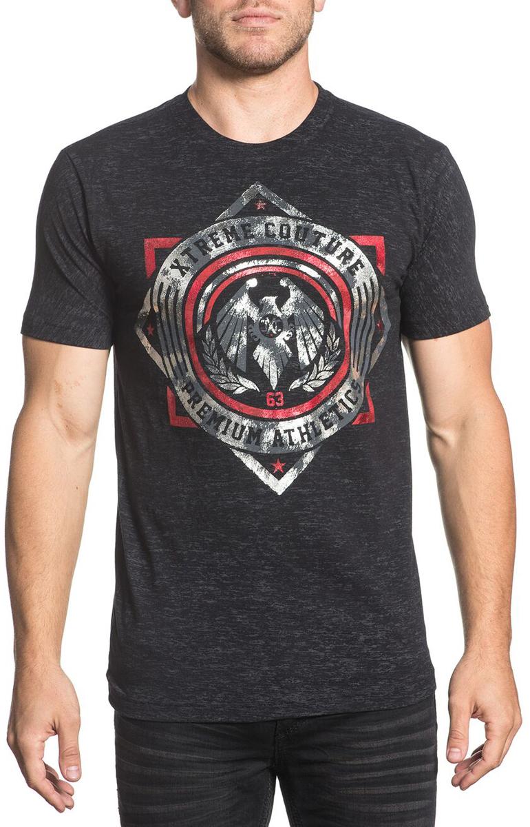 Футболка мужская Xtreme Couture Shock Trooper, цвет: черный. X1693. Размер XL (52)