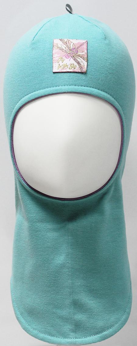 Шапка-шлем для девочки Marhatter, цвет: бирюзовый. MDT7530/5. Размер 48/50MDT7530/5Шлем для девочек Marhatter изготовлен из тонкого хлопка с содержанием лайкры. На макушке светоотрожающия тесьма. Модель украшена жаккардовым шевроном со стрекозой. Хлопковая подкладка. Подойдет для детей от 1 года. Уважаемые клиенты!Размер, доступный для заказа, является обхватом головы.