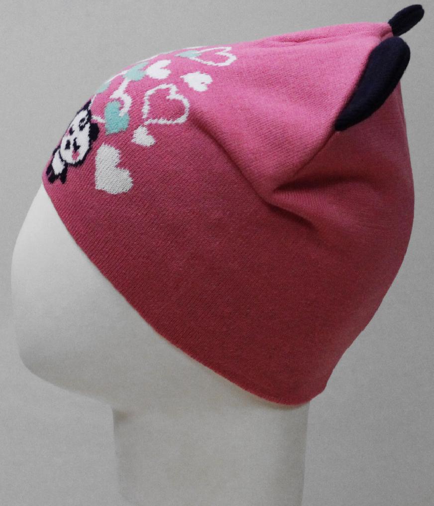 Фото - Шапка для девочки Marhatter, цвет: розовый. MDH8212. Размер 48/50 шапка для девочки marhatter цвет розовый mdh7263 размер 46 48
