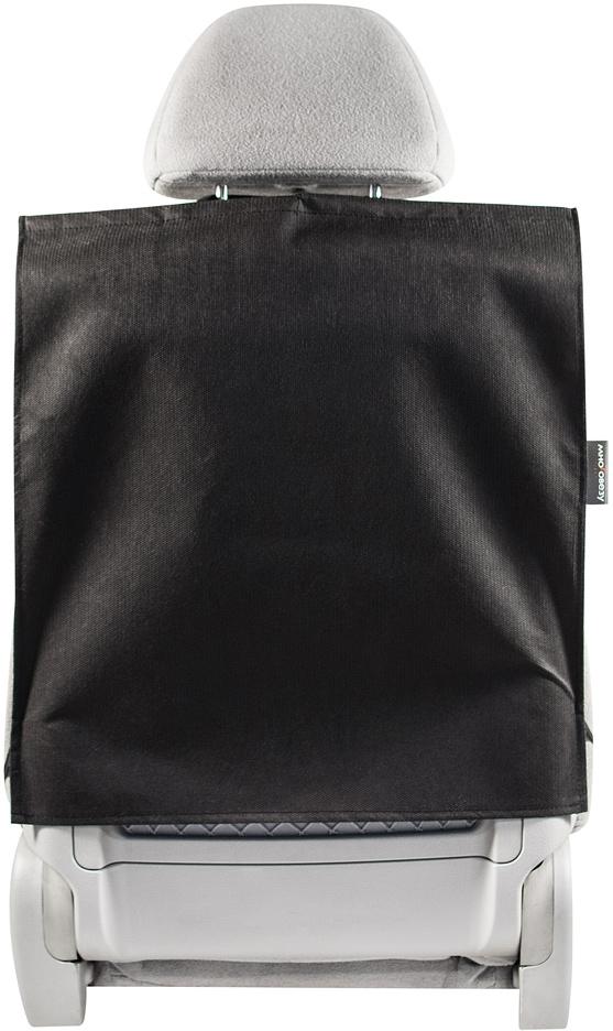Накидка защитная на спинку переднего сиденья Много Везу, 55 х 50 смМ 101Защитная накидка Много Везу на спинку переднего сиденья автомобиля защищает обивку от грязных детских ножек, пыли и грязи, царапин, повреждений и потертостей.Жесткий верхний каркас позволяет всегда держать форму накидки, а увеличенный размер подойдет на сиденье любого автомобиля.Особенности:- Жесткий верхний каркас- Универсальный размер- Полностью закрывает спинку сиденьяРазмер (ВхШ): 55х 50 см.Материал: спанбонд (плотность 100 г/м2).