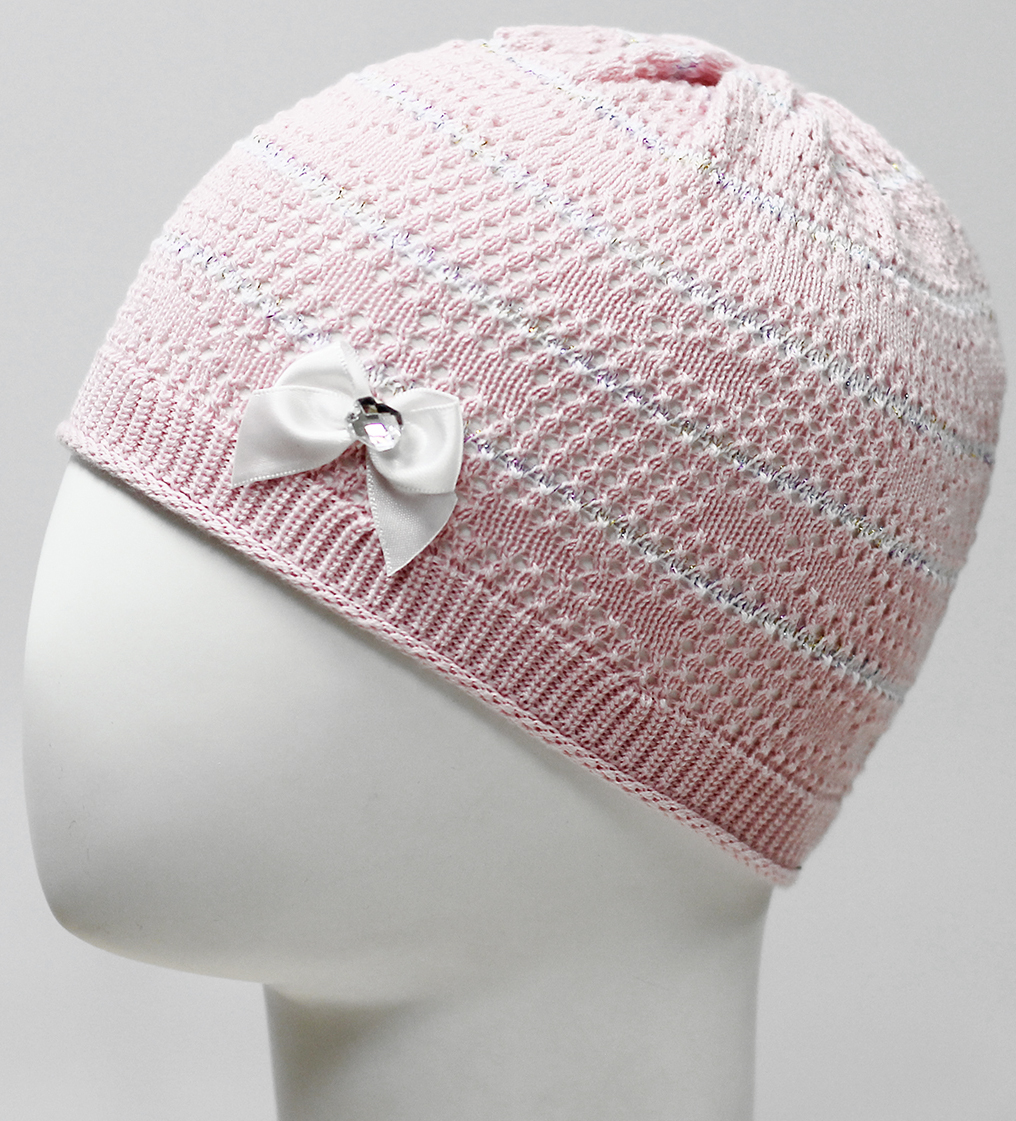Фото - Шапка для девочки Marhatter, цвет: светло-розовый. MDH7524. Размер 44/46 шапка для девочки marhatter цвет розовый mdh7263 размер 46 48