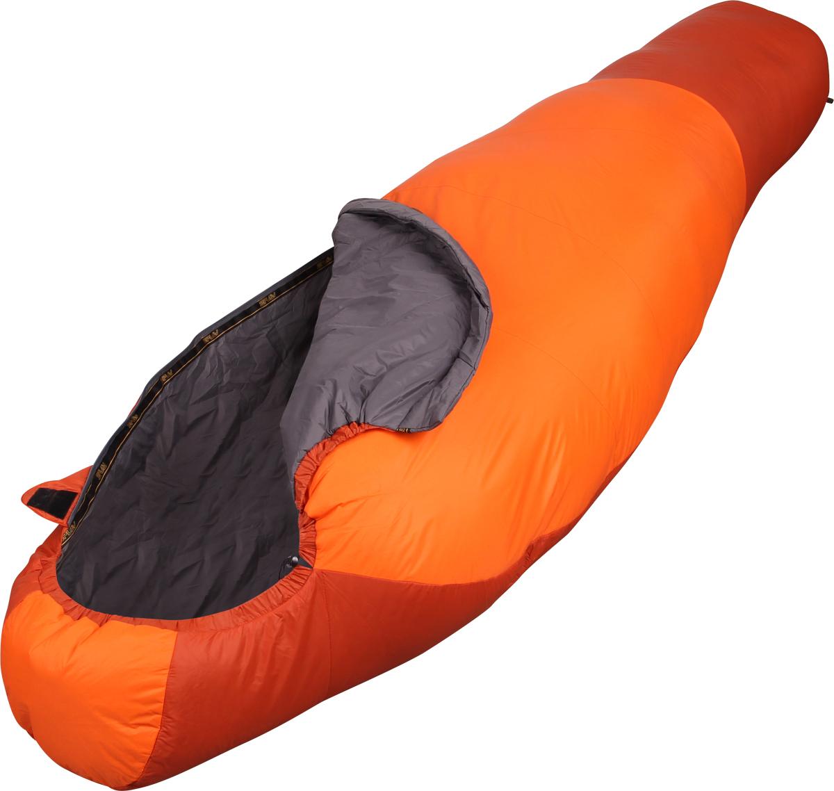Мешок спальный Сплав Antris 120, левосторонняя молния, цвет: оранжевый, 175 x 75 x 45 см4505574Сверхлегкий, летний спальный мешок.