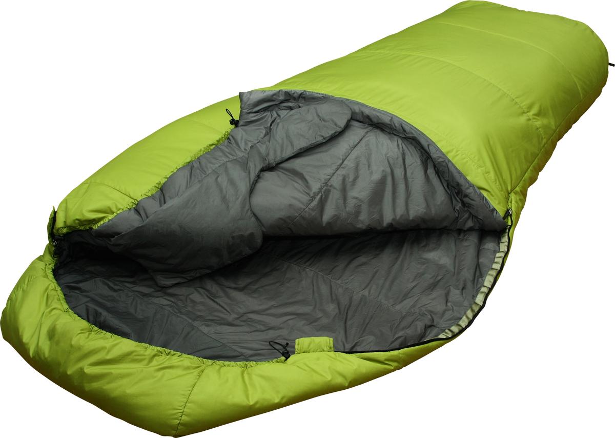 Мешок спальный Сплав Double 200, двухместный, цвет: зеленый, 230 x 120 x 73 см5103450Сплав Double 200 - теплый комфортный двухместный спальный мешок.Тип конструкции: кокон.Молнии - разъемные, двухсторонние, двухзамковые, расположены с двух боков спальника.Под головой сквозной карман, для укладки личных вещей в качестве подушки.Шейный пакет специальной формы. Уменьшает задувание между людьми.Утепленная защитная подпланка молнии.Упаковка: компрессионный мешок в комплекте.Внимание! длительное хранение в сжатом виде не рекомендуется.Температура (при двухместном использовании):Комфорт: +3… -5° С.Экстрим: -17° С.Габариты и вес:Размеры: 230 х 120 х 73 см.Размеры в упакованном виде: диаметр 20 х 46 см.Размеры в сжатом виде: диаметр 20 х 24 см.Полный вес: 1,66 кг.Минимальный вес: 1,6 кг.Материалы:Внешняя ткань: Nylon 6.6 R/S 20D Down Proof Hight Density Teflon DWR Cire.Вес ткани: 32 г/м2.Дышимость ткани: 0,8 см3/см2/с.Внутренняя ткань: Nylon 20D/370T Down Proof W/R Cire.Утеплитель: Primaloft Silver.Плотность утеплителя: 2?100 г/м2.Количество утеплителя: 1100 г.